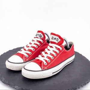 Converse All Star (RED) Womens Shoe sz 9